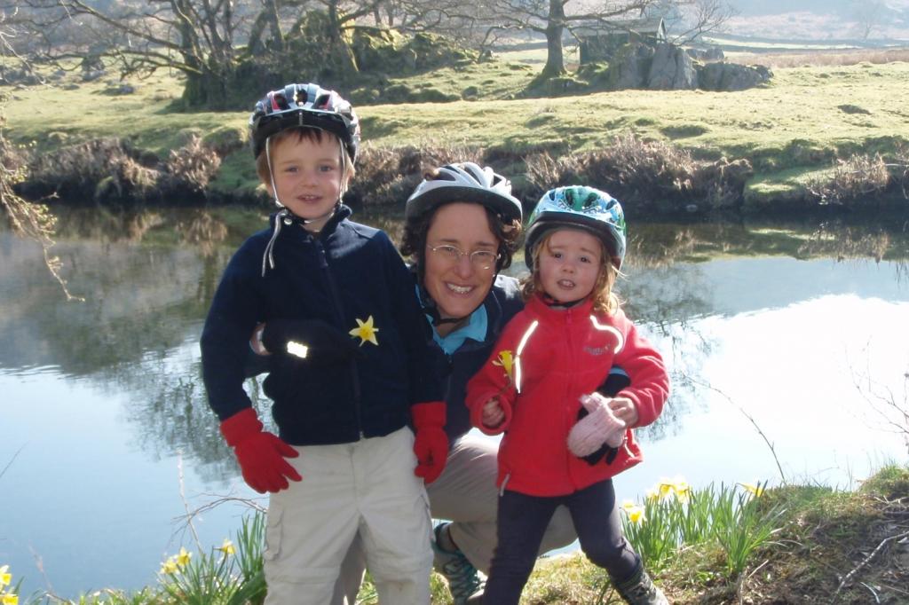 jane and kids